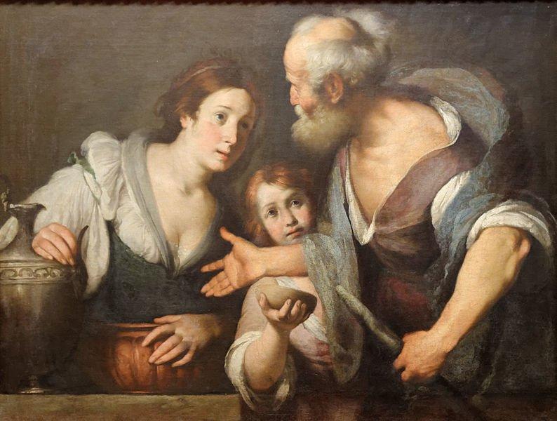 Elie et la veuve voix de l'évangile